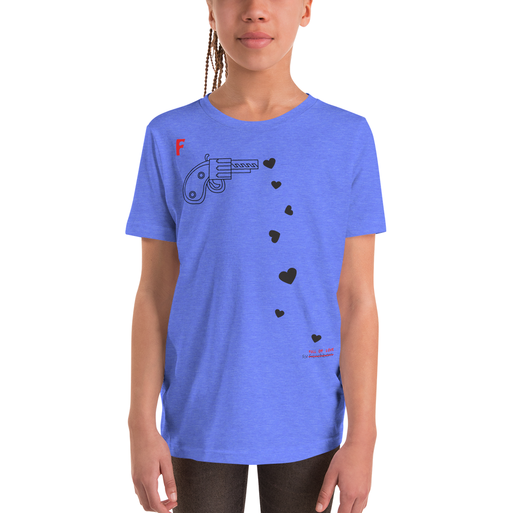 SPREAD LOVE-- Youth Short Sleeve T-Shirt