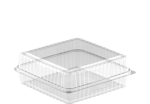 Cake Plastic Containers Small - 20 Pcs.