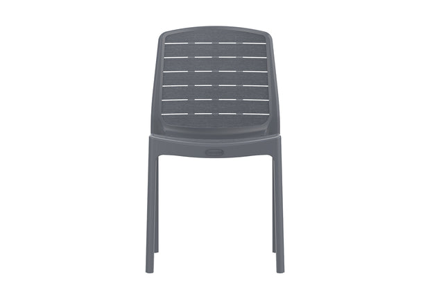 Cedargrain Outdoor Garden Plastic Armless Chair