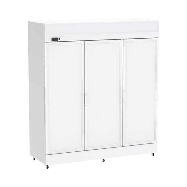 Celsius Upright Solid Door Chiller 1700 Liters - White