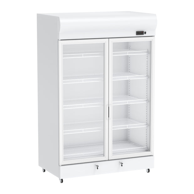 Celsius Upright Display Freezer 1450 Liters - White
