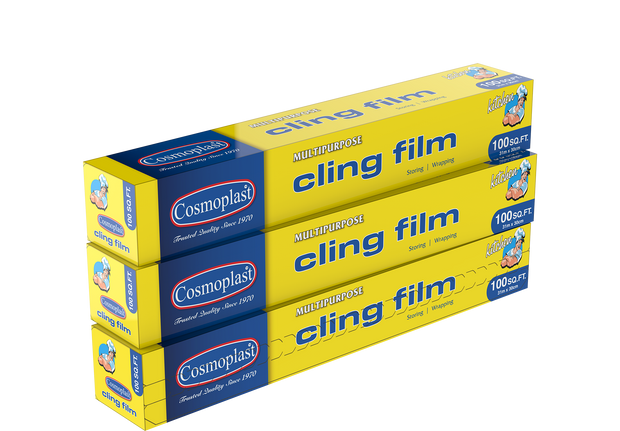 Cling Film 30 cm - 100 Sq. Ft. Pack of 3