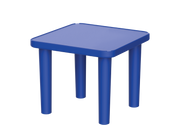 Square Kindergarten Resin Table