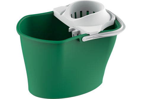 Mop Plastic Bucket with Squeezer 17L