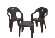 Regina Plastic Chair & Table Set