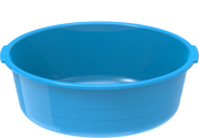 Plastic Round Basin Tub 32L Blue