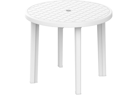 Round Plastic Table 85 cm