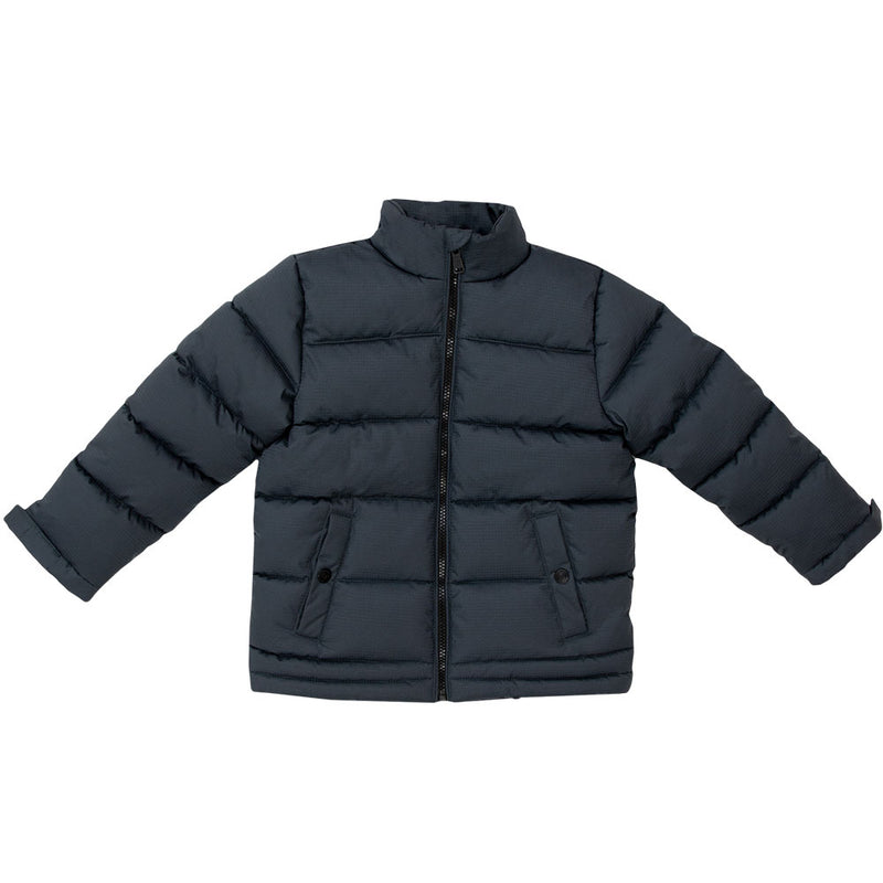 Boy's Wide Quilt WarmTek™ Down Puffer Jacket - TB9127 - Tempco Clothing