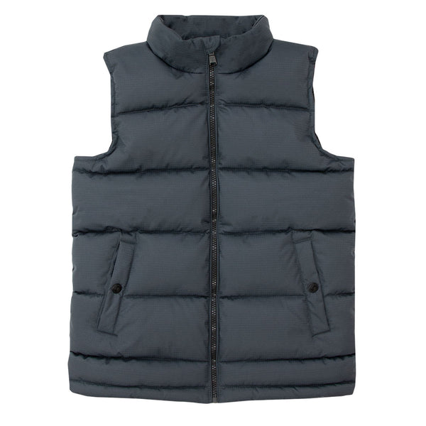 Boy's Wide Quilt WarmTek™ Down Puffer Vest - TB9227 - Tempco Clothing