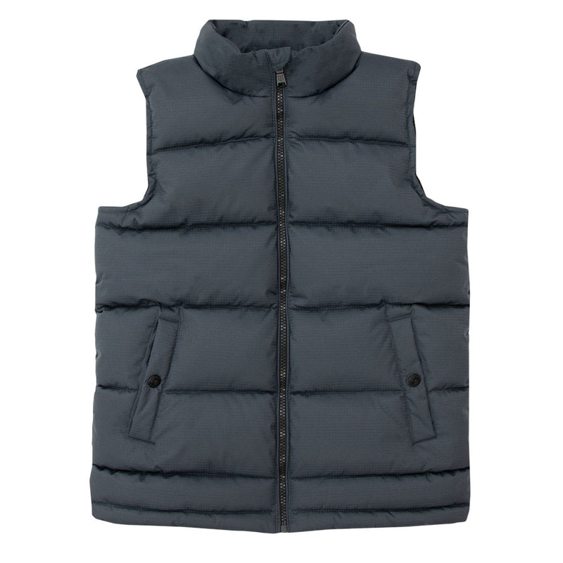 Toddler's Wide Quilt WarmTek™ Down Puffer Vest - TB3227 - Tempco Clothing