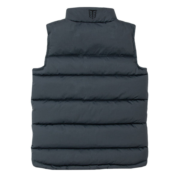 Children's Wide Quilt WarmTek™ Down Puffer Vest - TB4227 - Tempco Clothing