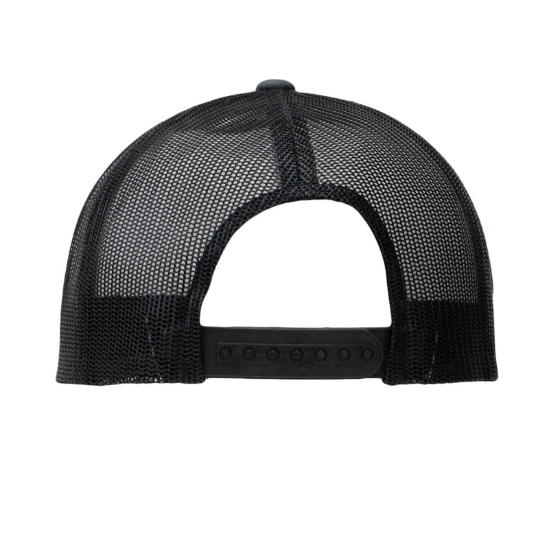 Tempco Iron Feather Mesh Snapback Hat - TCPB30 Charcoal/Black - Tempco Clothing