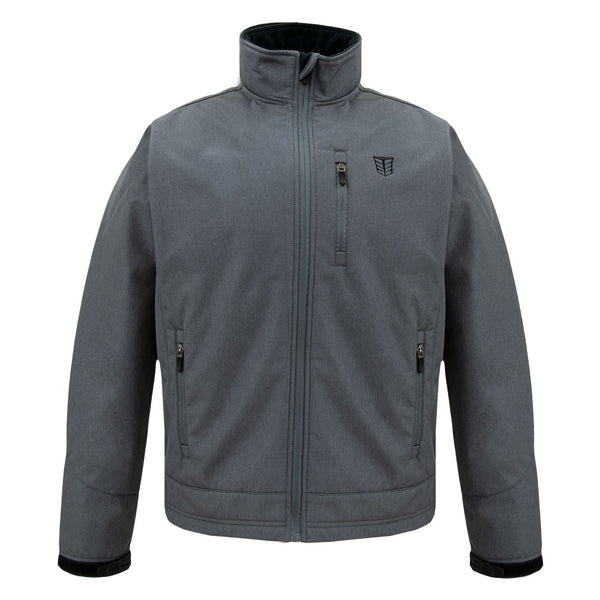 Men's Heather Softshell Jacket - TM311 - Tempco Clothing