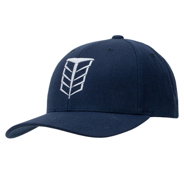 Tempco Iron Feather Snapback Hat - TCPA20 Navy/Gray - Tempco Clothing