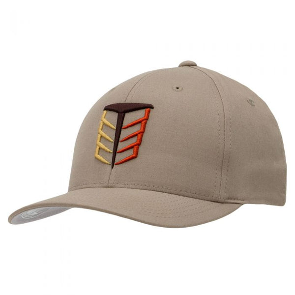 Tempco Iron Feather Fitted Hat - TCPA10 Khaki/Multi - Tempco Clothing