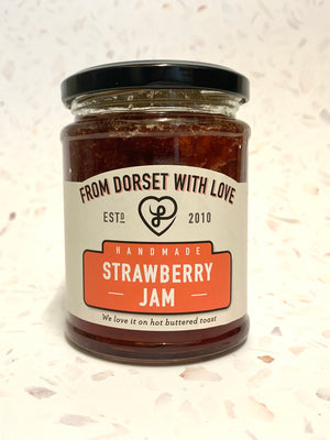From Dorset with Love Strawberry Jam