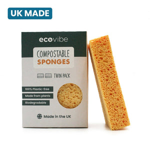 Compostable Sponges 2 Pack