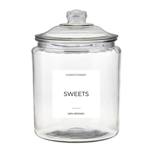 Roxie x SSTN. Large Sweets & Treats Jars 1900ml Limited Edition