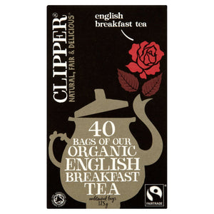 Clipper Organic English Breakfast Teabags