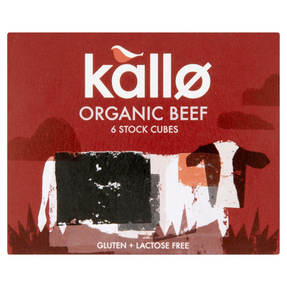 Load image into Gallery viewer, Kallo Organic Beef Stock Cubes