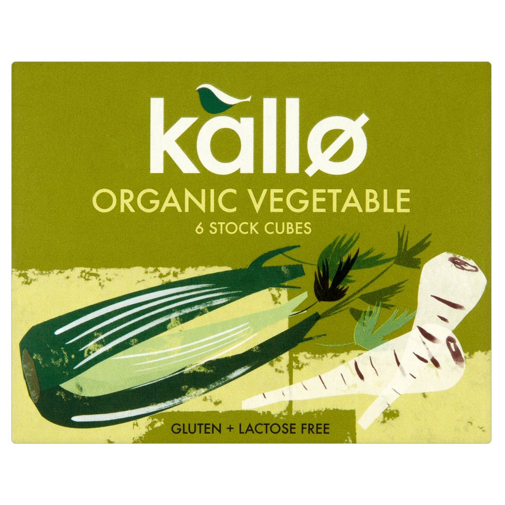 Load image into Gallery viewer, Kallo Organic Vegetable Stock Cubes