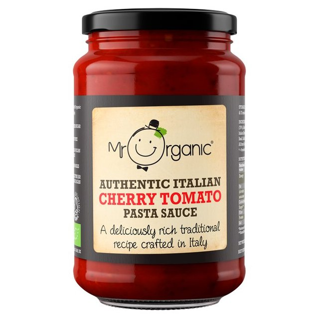 Mr Organic Authentic Italian Cherry Tomato Pasta Sauce