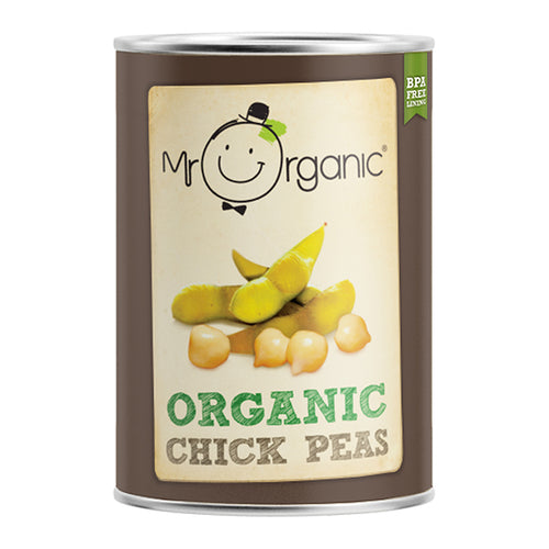 Mr Organic Organic Chickpeas (400g)