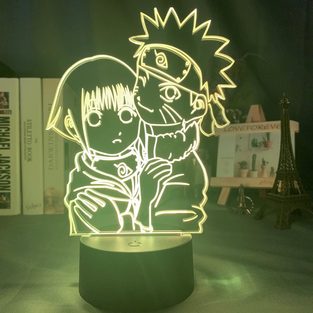 3D NARUTO  Lamp - Group