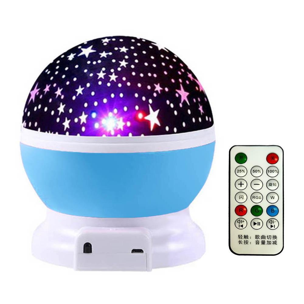 LED Music Star Projection Light
