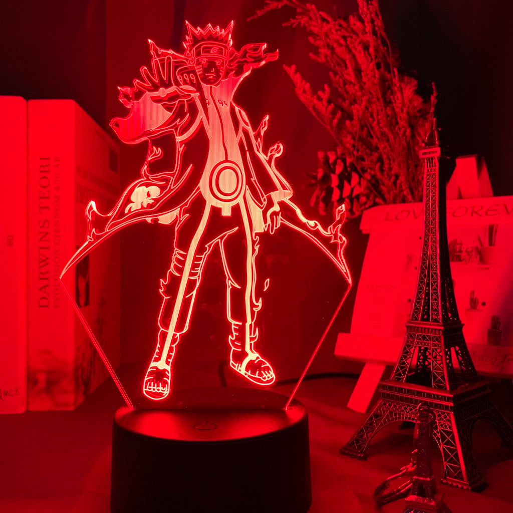 Naruto 3D night light