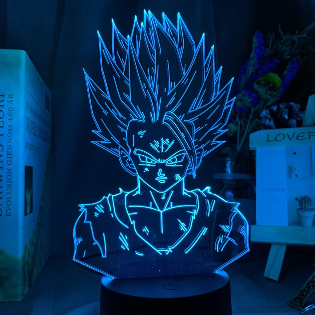 ANIME GOHAN - 3D LED NIGHT LAMP