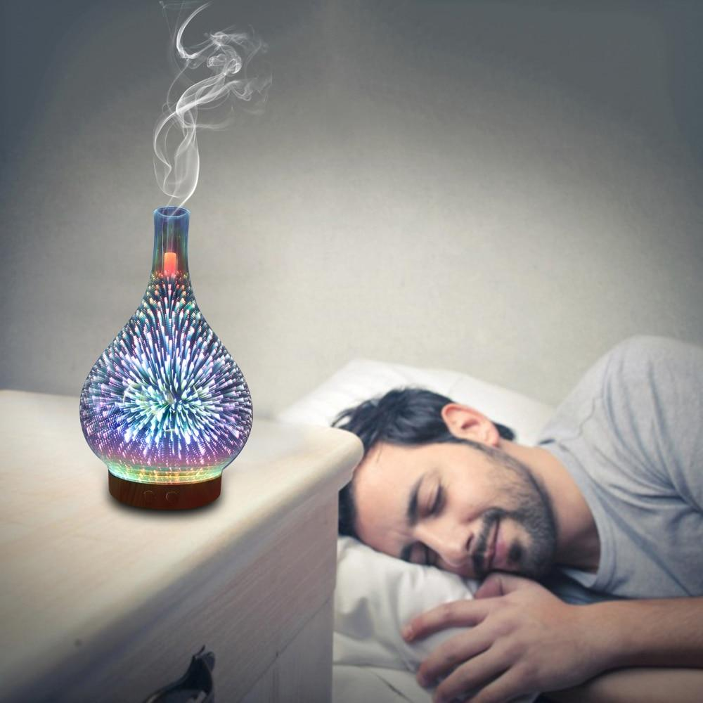 LED Light Fireworks Humidifier