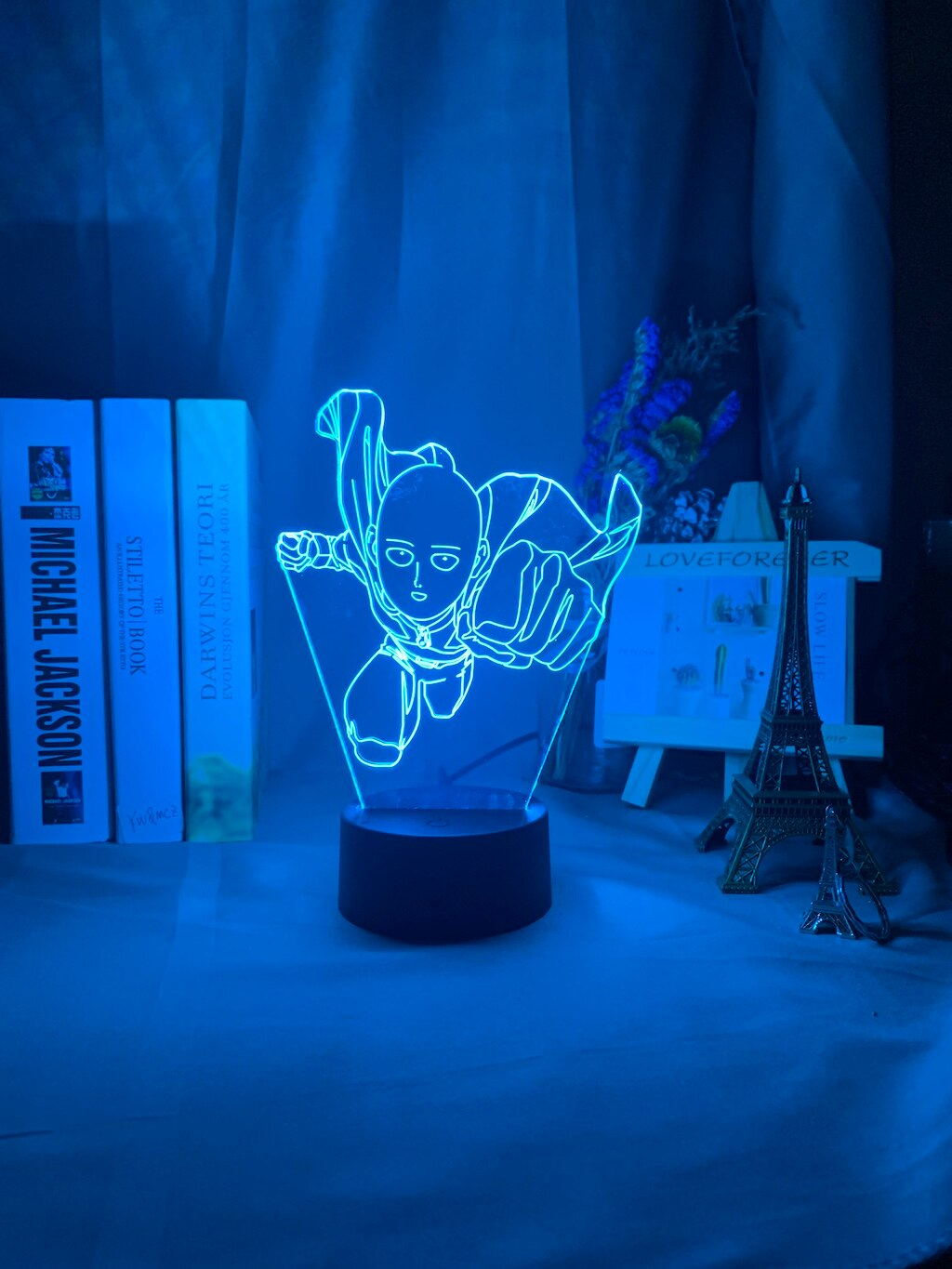 One Punch Man Saitama 3D Night Lamp
