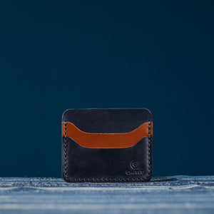 Denim Dream 5 Slot Card Wallet