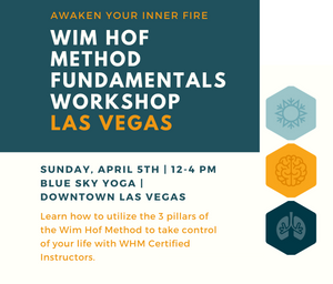 Las Vegas | Wim Hof Method Fundamentals Workshop