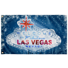 "Load image into Gallery viewer, Welcome to Ice Vegas Flag | 30"" x 60"""