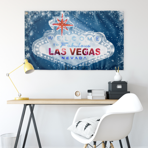"Welcome to Ice Vegas Flag | 30"" x 60"""