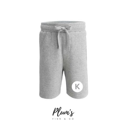 """K"" Cotton Shorts"