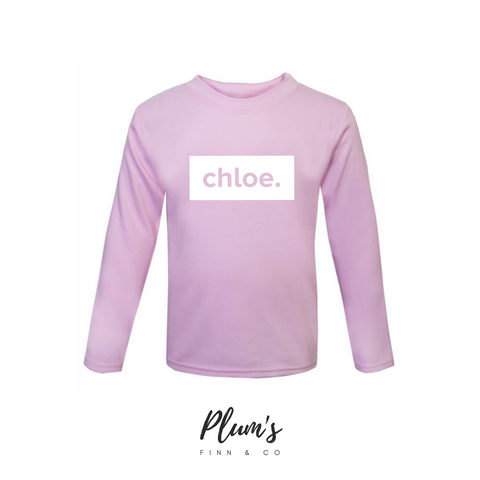 """Chloe"" Long Sleeve Top"
