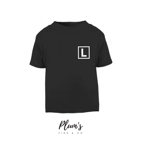 """L"" Short Sleeve T-Shirt"