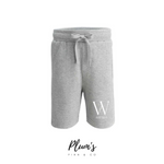 """W Est"" Cotton Shorts"