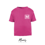 """M"" Short Sleeve T-Shirt"