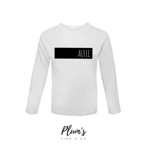 """Alfie"" Long Sleeve Top"