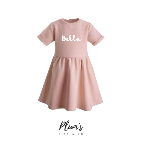 """Bella"" Fleece Dress"