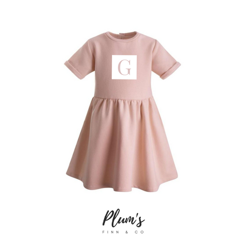 """G"" Fleece Dress"