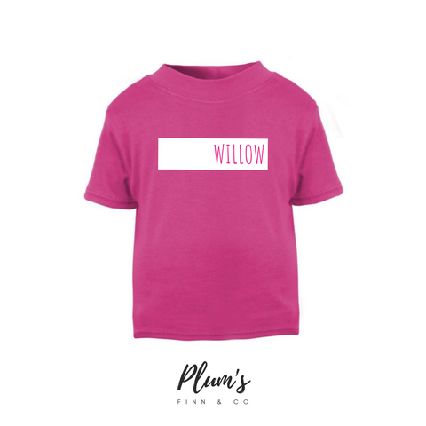 """Willow"" Short Sleeve T-Shirt"