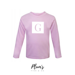 """G"" Long Sleeve Top"