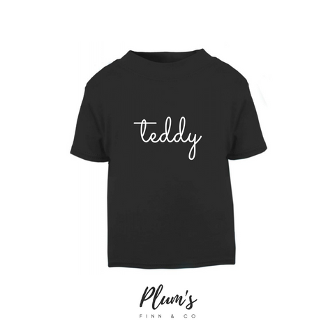 """Teddy"" Short Sleeve T-Shirt"