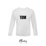 """Tom"" Long Sleeve Top"