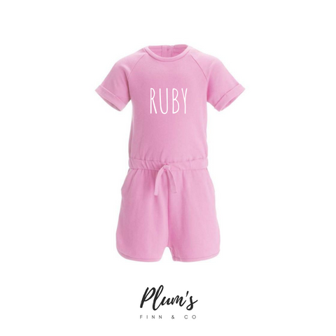 """Ruby"" Playsuit"